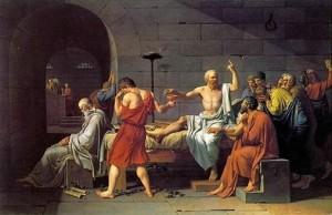 Death of Socrates, Jacques Louis David