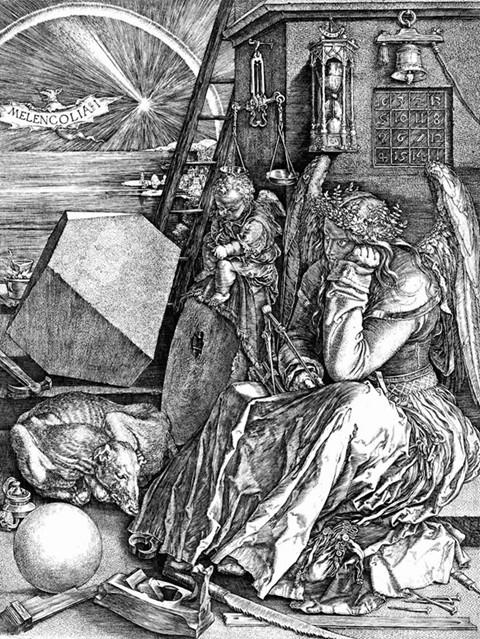 """Albrecht Dürer, """"Melancholia"""""""